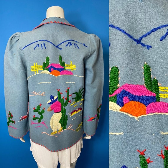 1940s Mexican tourist jacket - image 2