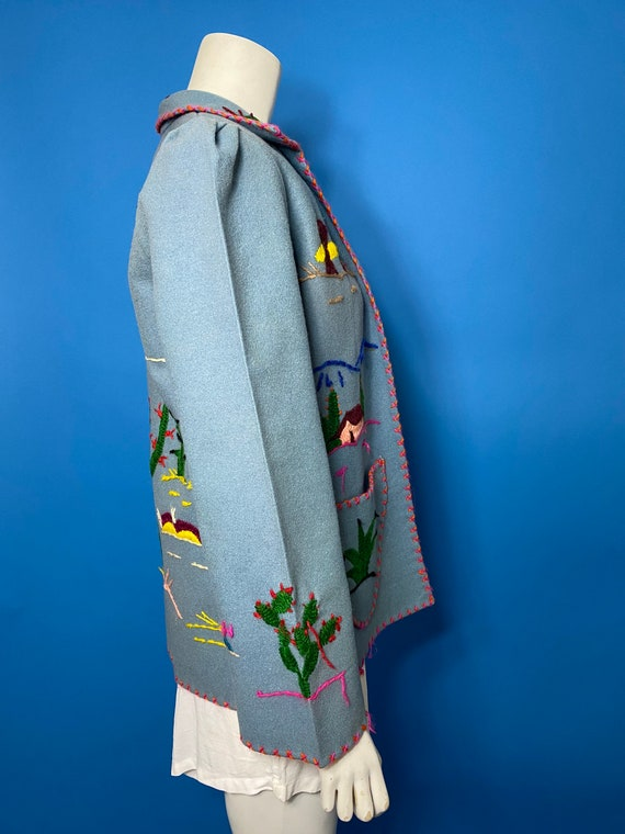 1940s Mexican tourist jacket - image 3