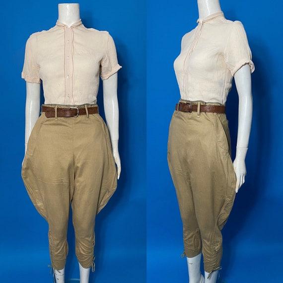 1940s jodhpurs, breeches length