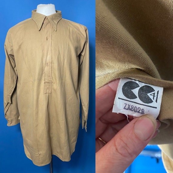 1940s CC41 work shirt