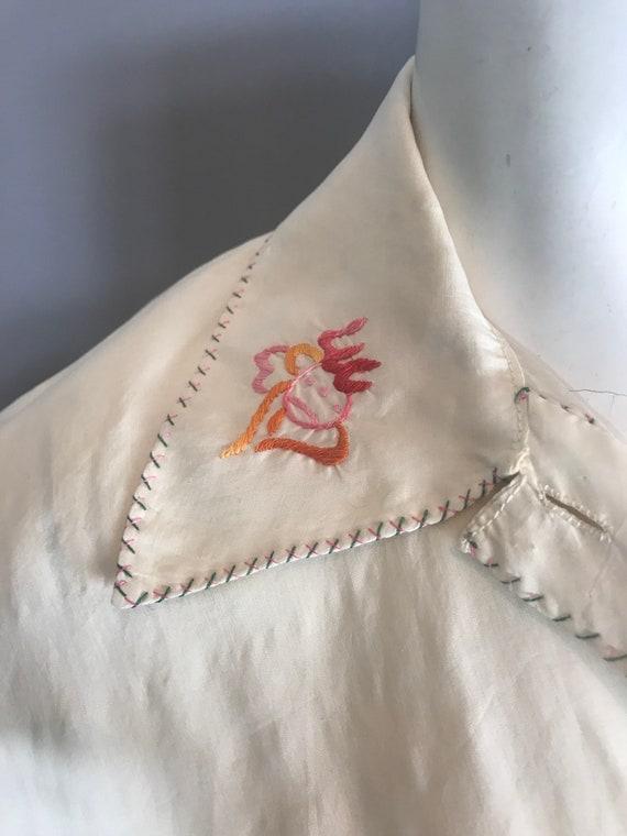 1930s silk pyjamas - image 6