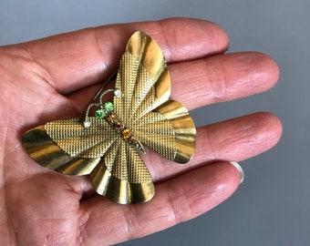 1930s butterfly brooch