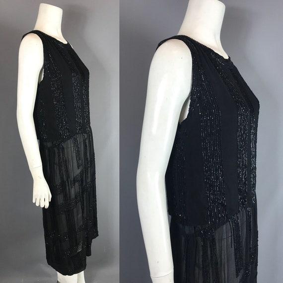 1920s beaded dress - flapper dress - image 2