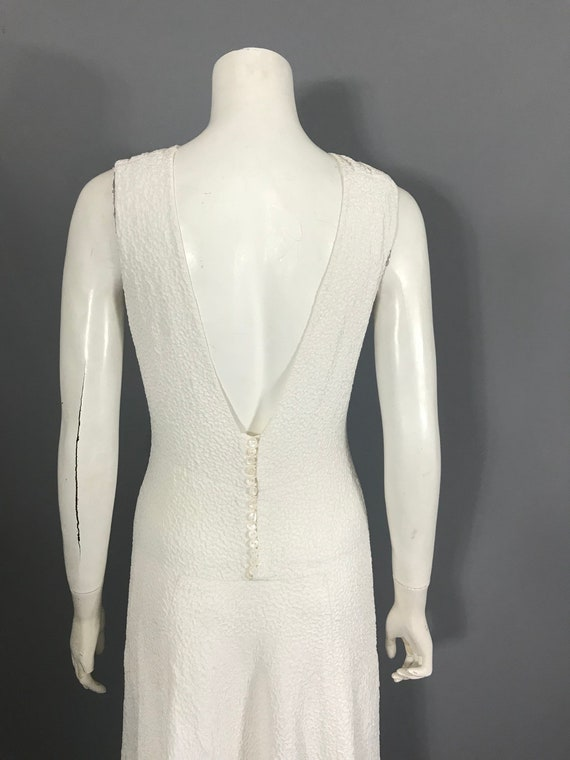 1930s backless gown with bolero - image 3