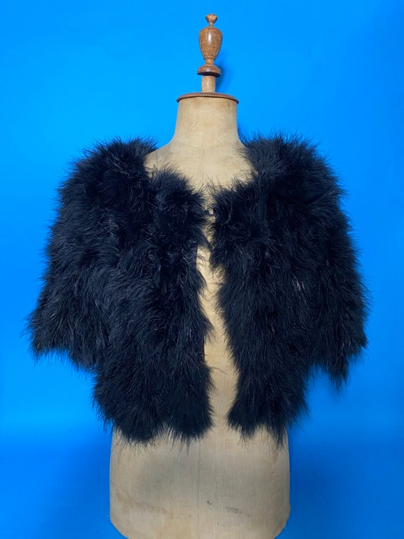 1930s ostrich feather jacket