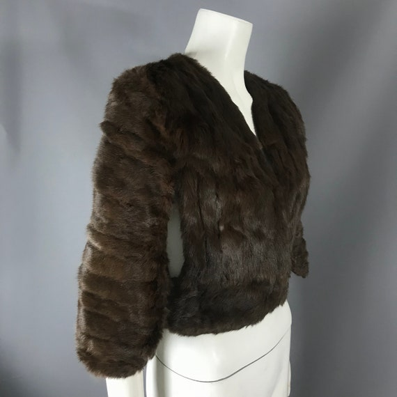 1940s fur cape - image 2