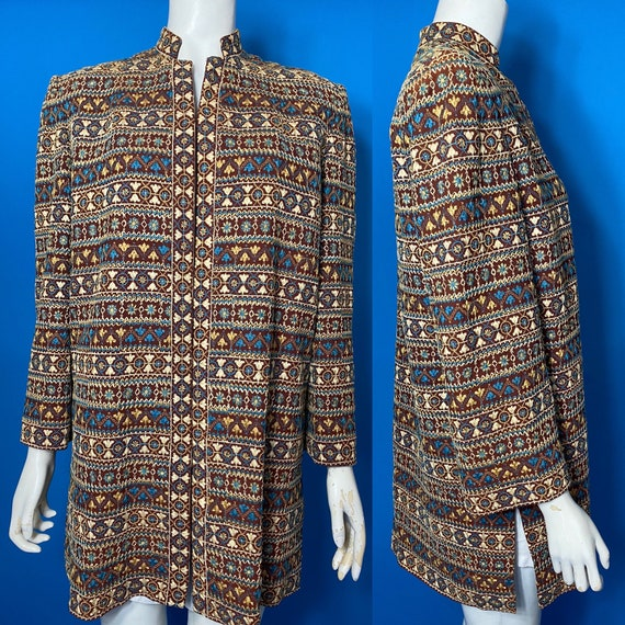 1940s Fred A Block embroidered jacket