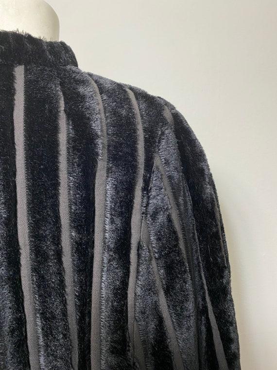 1930s cape, faux fur - image 8