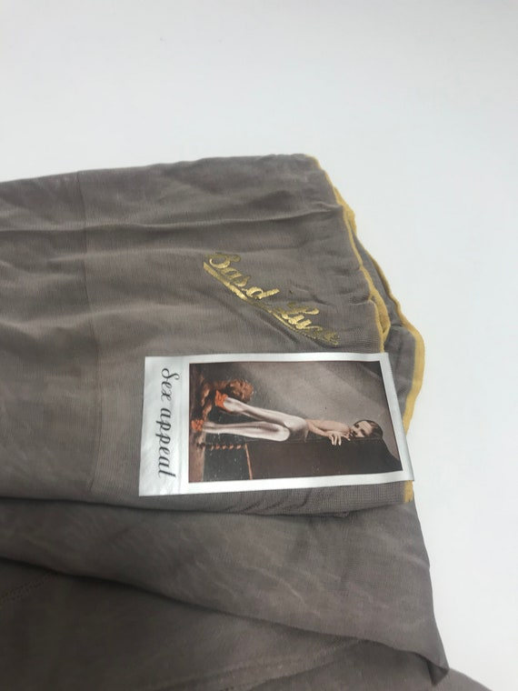 1920s 1930s stockings, seamed stockings - image 6