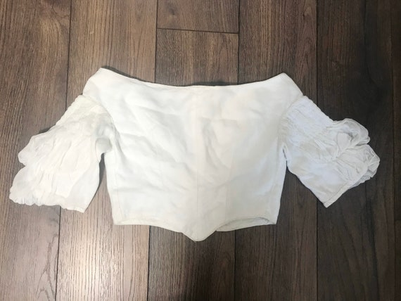 Early victorian blouse or bodice C1840s