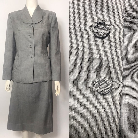 1940s striped suit