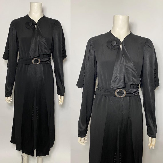 1930s dress, art deco era