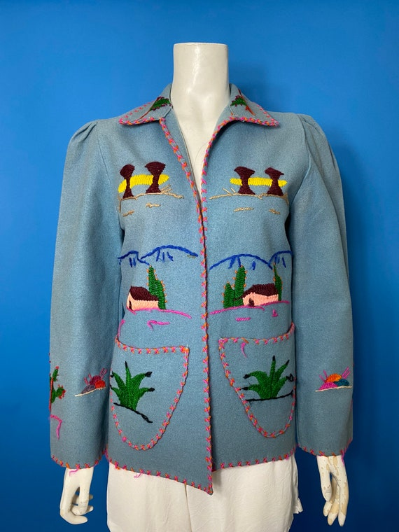 1940s Mexican tourist jacket - image 4