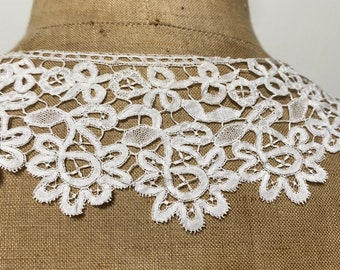 Victorian Edwardian Honiton lace collar
