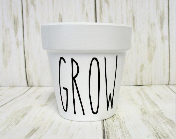 Mini Herb Flower Pot, Grow Garden Herb Planter Pot, Home Decor, Succulent Planter