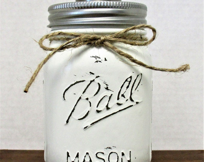 Mason Jar Soap Dispenser, Bathroom Decor, Kitchen Decor, Rustic Decor, Farmhouse Decor, Country Kitchen