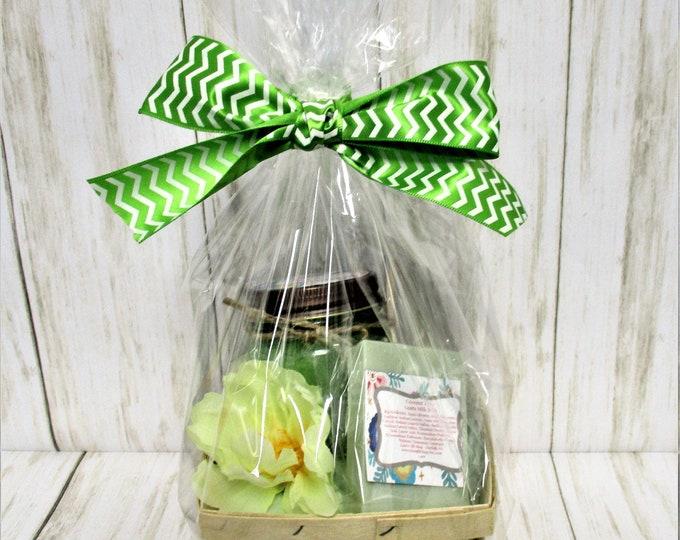 Coconut Lime Bath and Body Gift Set, Sugar Scrub, Goats Milk Soap, Exfoliating Scrub, Bridesmaid Gift, Spa Product, Bridal Shower Gift