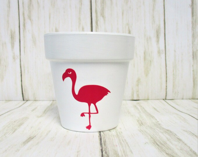 Mini Flamingo Flower Pot, Garden Herb Planter Pot, Home Decor, Succulent Planter