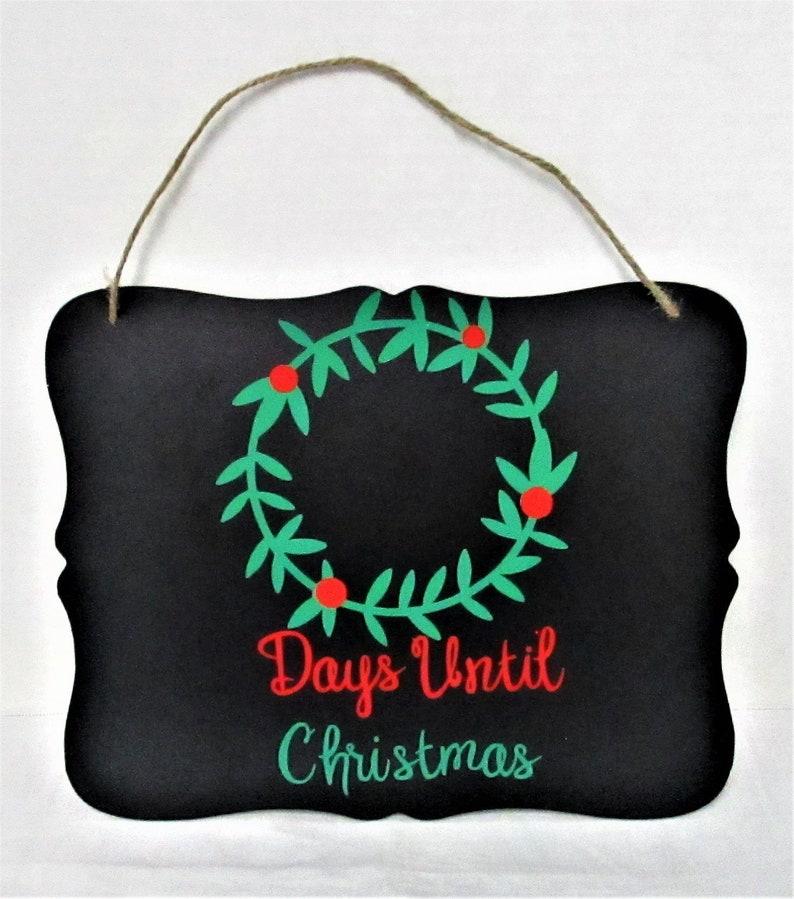 Until Christmas 10 Weeks Till Christmas.Days Until Christmas Sign Countdown Chalk Board Sign Christmas Sign Christmas Chalkboard Sign Count Down To Christmas Christmas Decor