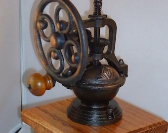 Handmade cherry coffee grinder