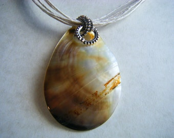 Shell Necklace RePurposed ReCycled UpCycled