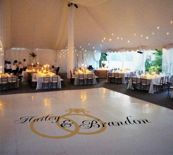 Tanzflache Boden Aufkleber Hochzeitsdeko Hochzeit Etsy