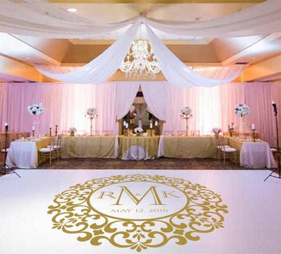 Floor Decal: Wedding Dance Floor DecalVinyl Decal Wedding Decor Wedding