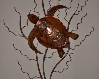 Copper Turtle on Sea Fan