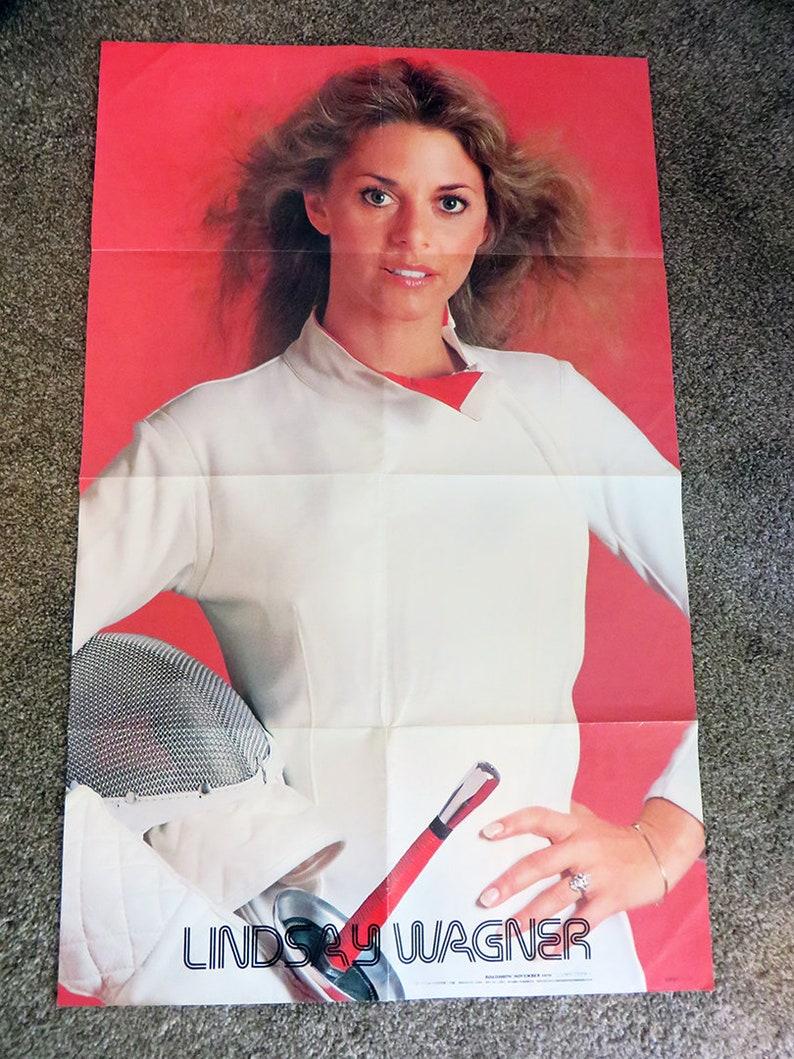 Vintage 1979 Rocky II Sylvester Stallone  Lyndsay Wagner Folded Poster 21x34