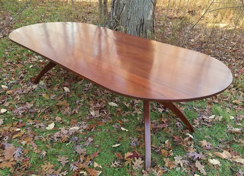 102in Walnut Walking Table © 2017 VERY Handsome image 0