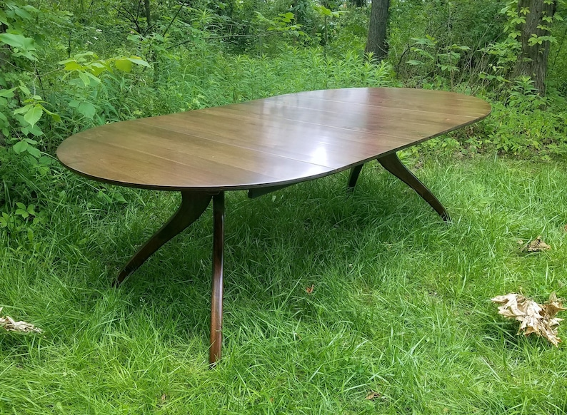 90in Walnut Walking Extension Table © 2017 image 0