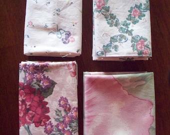 Pink Floral Fat Quarters