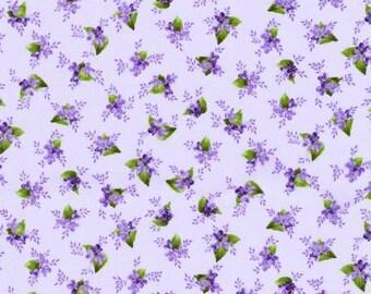 Elizabeth~Purple Airy Pin Dots On Purple Cotton Fabric Robert Kaufman