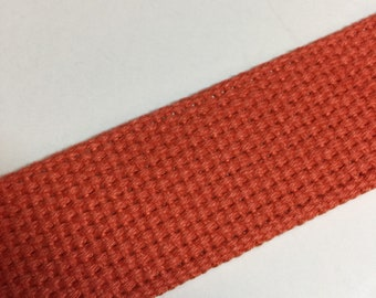 "Orange Heavyweight Cotton Belting | 51"""