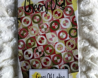 Cheery O's Quilt Sewing Pattern by Crazy Old Ladies UC FF Uncut Quilting