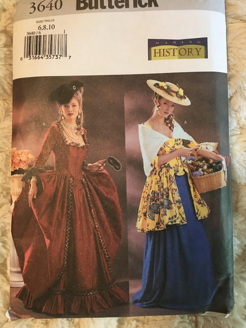 Butterick Making History Costume Patterns All  UNCUT YOU CHOOSE