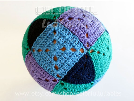 Crochet Square And Triangle Ball Pattern Rhombicuboctahedron Etsy