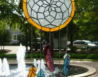 Stained Glass Dreamcatcher
