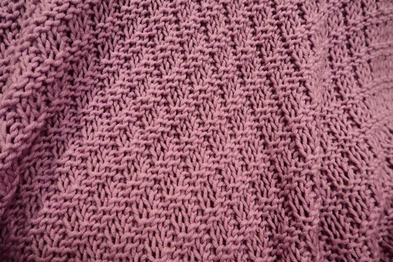 38X58 Afghan Sofa Throw Blanket Chunky Approx
