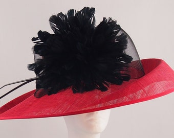 Fabulous Red Derby Hat
