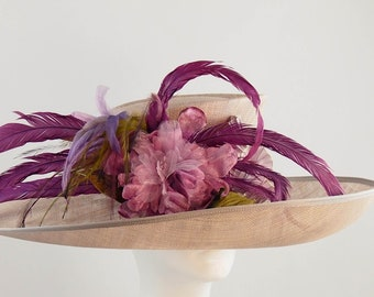 Fabulous Heather Derby Hat