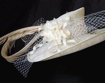 Ivory Derby Hat