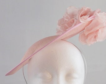 Light Pink Disk Fascinator