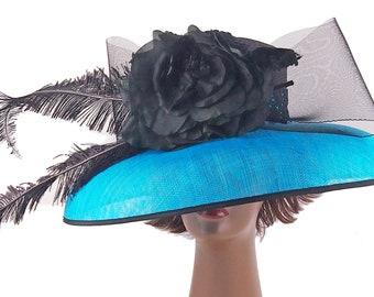Cerulean Blue Fabulous Hat