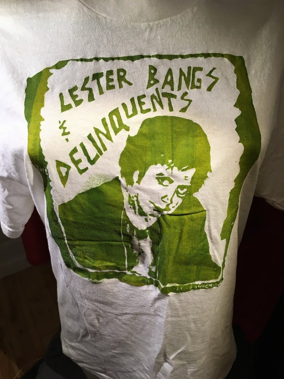 Vintage Lester Bangs & the Delinquents tee-shirt