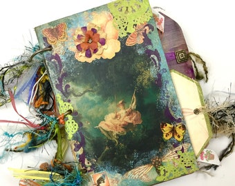 """Fully Decorated """"Telling a Story"""" Art journal*"""