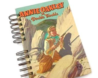 "Mid Century ""Annie Oakley"" Junk Journal / 30+pc  Ephemera Pack / Art Journal / Smash Book / Scrap Journal / Mixed Media"