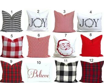farmhouse pillows christmas pillow covers tartan plaid pillow cover buffalo check throw pillow cover christmas decor christmas pillows - Christmas Pillows