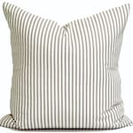 Farmhouse Pillow, Farmhouse Decor, Farmhouse Pillow COVER, Charcoal Pillow Cover