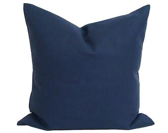 Solid Blue Pillow Covers for 20x20 Pillows 4de463d19ab6
